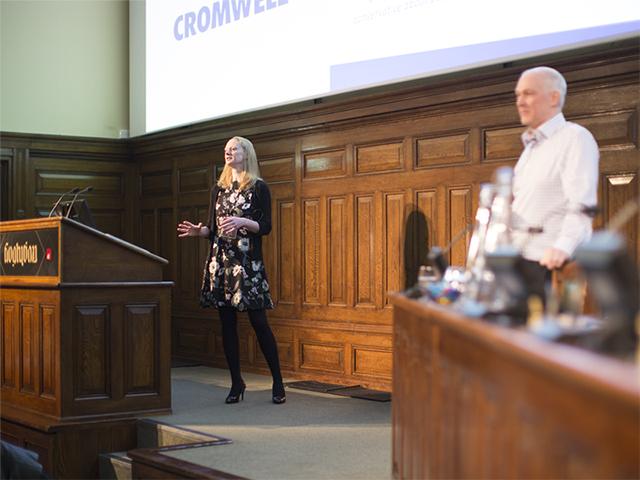 Tim Paddison & Rebecca Galley, Cromwell